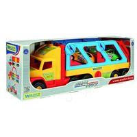 Pozostałe samochody i pojazdy dla dzieci, Super Truck z autkami - Wader