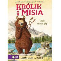 Książki dla dzieci, Królik i Misia. Sposób na przekąskę (opr. twarda)