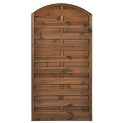 Płot szczelny 90x180 cm drewniany NIVE NATERIAL 2021-07-14T00:00/2021-08-03T23:59