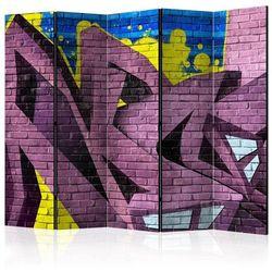 Parawan 5-częściowy - Street art - graffiti II [Room Dividers]