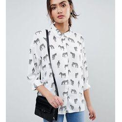 ASOS DESIGN TALL Shirt in Zebra Print - Multi