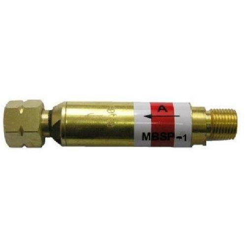 Pozostałe narzędzia spawalnicze, MBSP-1 MINIBEZPIECZNIK SUCHY PRZYPALNIKOWY DO PROPANU G1/4LH