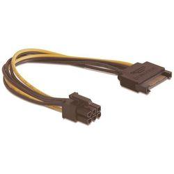 Kabel zasilający Serial ATA (M) -> PCI EXPRESS 21cm