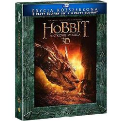 Hobbit: Pustkowie Smauga 3D. Edycja specjalna (3BD)