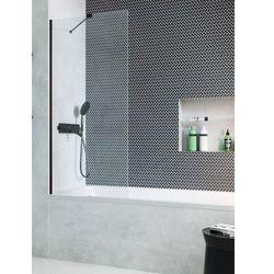 Radaway parawan nawannowy Modo New Black PNJ 60 cm, szkło przejrzyste, wys. 150 cm 10006060-54-01
