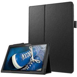 Etui Stand Cover Lenovo Tab2 A10-30/ Tab 10 TB-X103 F/L Czarne - Czarny