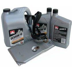 Filtr oraz olej Dextron-VI automatycznej skrzyni biegów AW4 Jeep Cherokee -2001