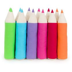 MAMO-TATO Poduszka Kredka Wałek dla dzieci - 6 kolorów do wyboru