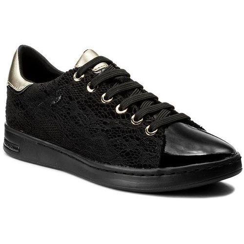 Półbuty damskie, Sneakersy GEOX - D Jaysen A D621BA 0DSHH C9999 Black