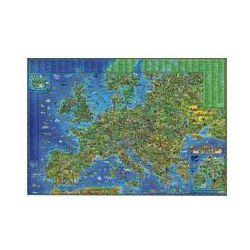 Europa mapa ścienna dla dzieci tuba. Darmowy odbiór w niemal 100 księgarniach!