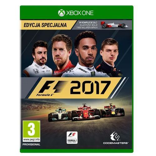 Gry Xbox One, F1 2017 (Xbox One)