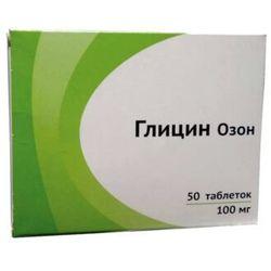 Glicyna Ozon 50 tab 100 mg