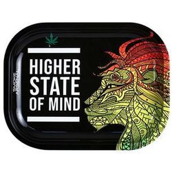 Metalowa tacka do zwijania Higher State of Mind 18x14cm