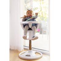Krzesełka do karmienia, Wysokie obrotowe krzesełko do karmienia FLORA - beżowe