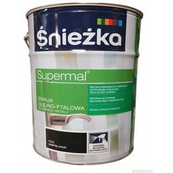 Emalia Olejno-Ftalowa Supermal 10L Czarny Śnieżka