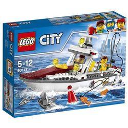 Lego CITY 60147 Łódź rybacka