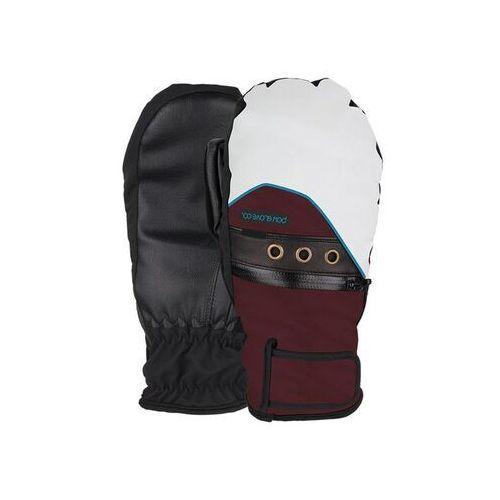 Odzież do sportów zimowych, rękawice snowboardowe POW - Ws Astra Mitt Port (PO) rozmiar: M