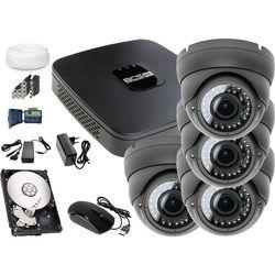 Zestaw do monitoringu: Rejestrator BCS-XVR0401E, 4x Kamera LV-AL40HVD, 1TB, akcesoria