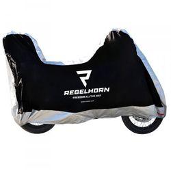 Rebelhorn pokrowiec na motocykl black/silver