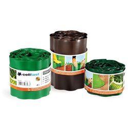 Obrzeże ogrodowe 10cm x 9m Cellfast : Kolor - Zielony