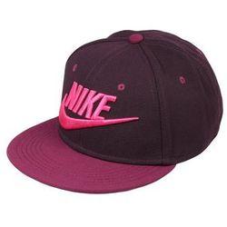 Nike Performance FUTURA TRUE Czapka z daszkiem port wine/bordeaux/black/active pink