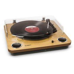 ION MAX LP DREWNO - uniwersalny gramofon z wbudowanymi głośnikami stereo | Zapłać po 30 dniach | Gwarancja 2-lata