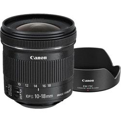 Canon EF-S 10-18mm f/4,5-5,6 IS STM + EW-73C + LC Kit (9519B009AA)