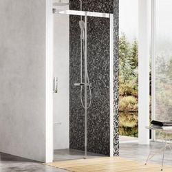 Ravak Matrix drzwi prysznicowe MSD2 - 100 L, wys. 195 cm, Polerowane aluminium + Transparent 0WLA0C00Z1
