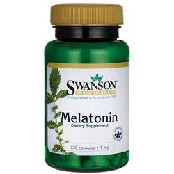 Swanson Melatonina 1mg 120 kaps.