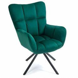 Zielony fotel wypoczynkowy obrotowy SC-8053
