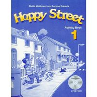 Pedagogika, Happy Street 1. Activity book (+ CD) (opr. miękka)