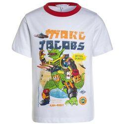 Little Marc Jacobs KURZARM Tshirt z nadrukiem weiß/rot