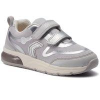 Półbuty i trzewiki dziecięce, Sneakersy GEOX - J Spaceclub G.C J928VC 014AJ C0570 S Grey/Silver