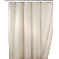 Zasłona prysznicowa, tekstylna, kolor beżowy, 180x200 cm, WENKO