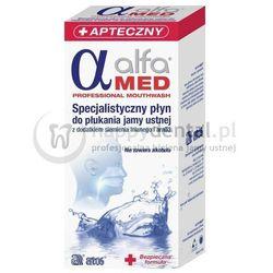 ALFA MED specjalistyczny płyn do płukania jamy ustnej do stsowania podczas leczenia nowotworów oraz kserostomii