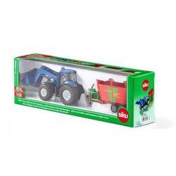 Traktor New Holland z ładowarką czołową. Darmowy odbiór w niemal 100 księgarniach!