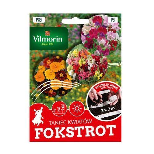 Nasiona, Mieszanka kwiatów FOKSTROT nasiona na taśmie 3 x 2 m VILMORIN