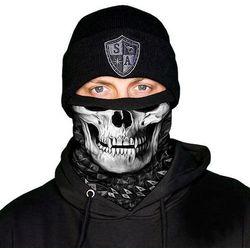 SA Co. Chusta Wielofunkcyjna Frost Tech™ Face Shield™ Raven Skull - Raven Skull