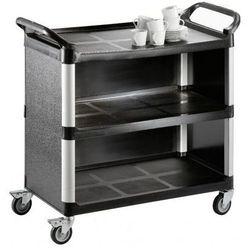 Wózek kelnerski 3-półkowy z tworzywa | 1020x500x(H)960mm