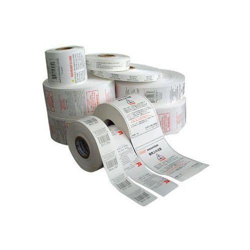 Etykiety fiskalne, Etykiety termotransferowe foliowe 57x32 - 2100szt. białe