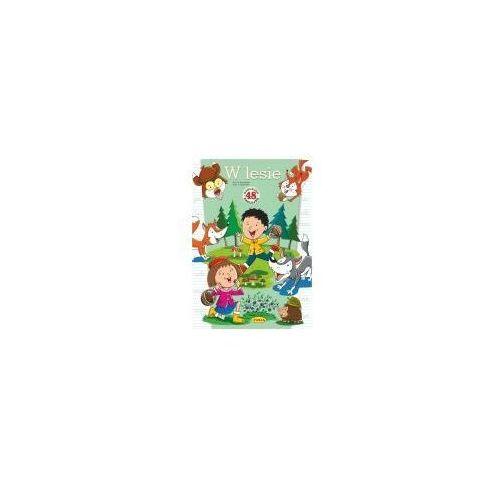 Książki dla dzieci, W lesie. 48 naklejek