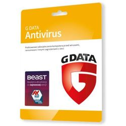 G Data AntiVirus 2 PC - Kontynuacja 1 rok