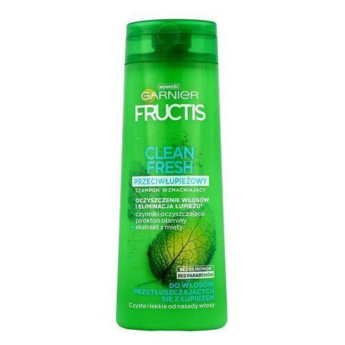Mycie włosów, Fructis Clean Fresh Szampon do włosów przetłuszczających się z łupieżem 400ml - Garnier