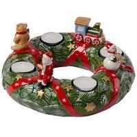 Ozdoby świąteczne, Villeroy & Boch - Christmas Toys Memory Wieniec adwentowy North Pole Express