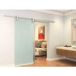 Naścienne drzwi przesuwne CLEAVER — 205 × 73 cm (wys. × szer.) — szkło hartowane