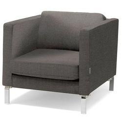 Fotel wypoczynkowy NEO, tkanina, ciemnoszary
