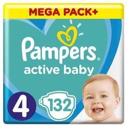 Pampers pieluchy ABD Mega Pack Plus Maxi 132szt- natychmiastowa wysyłka, ponad 4000 punktów odbioru!