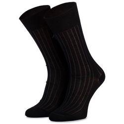 Skarpety Wysokie Unisex JOOP! - New Two Tone Sock I Er 900.078 Black 2000