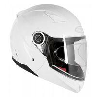 Kaski motocyklowe, KASK OZONE OPEN FACE CITY-01 Z PINLOCK WHITE