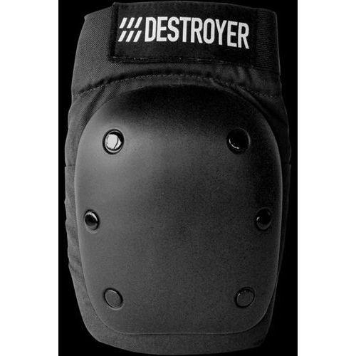 Ochraniacze na ciało, ochraniacz kolan DESTROYER - Rec Knee Black (BLK)